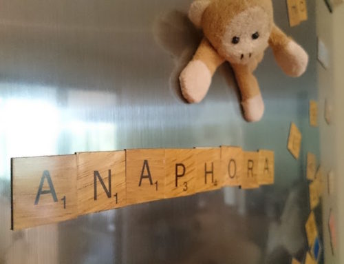 Word of the Day: Anaphora