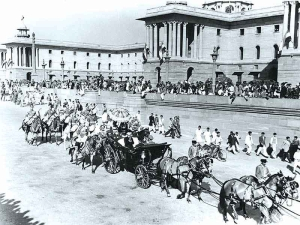 First Republic Day parade