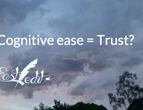 Effect of cognitive ease and readability scores on conversion