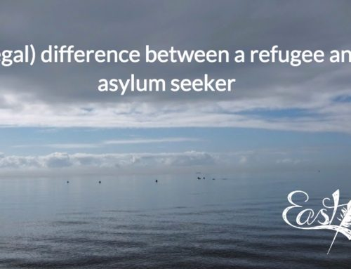 The (legal) difference between a refugee and an asylum seeker